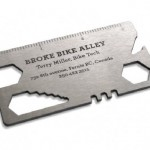Great business card design for Broke Bike Alley by Rethink!