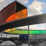 OLAFUR ELIASSON'S YOUR RAINBOW PANORAMA.