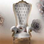 Regal Armchair Throne by Caspani