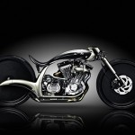 S&S custom motorcycle.