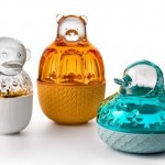 Baccarat Zoo crystal casket collection by Jaime Hayon.