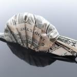 Dollar Bill Snail, Origami Art By Craig Sonnenfeld.