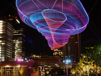 Her Secret Is Patience by Janet Echelman.