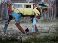 Miina Akkijyrkka Creates Cow Sculptures.
