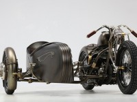 Harley-Davidson sidecar.