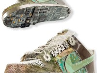 SUPER FUNKY CIRCUIT BOARD SHOES.