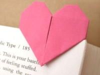 DIY: Origami Valentine Heart.