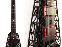The Spider 3D printed guitar was designed specifically for laser sintering.
