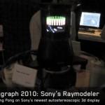 Sony's 360-degree RayModeler 3D display.