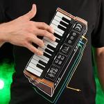 Electronic Music Synthesizer Shirt.