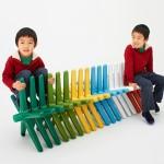nakadai project: block chair by sugiX.