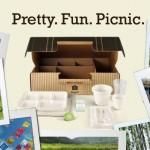 Its a pretty, fun, picnic in a box.