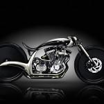 S&S custom motorcycle.