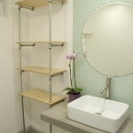 Build An Ace Hotel-Inspired Plumbing Pipe Shelf.