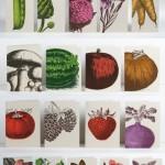 Local Food Paper Artwork.