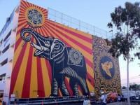 West Hollywood Peace Elephant.