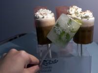 Edible shot glasses.